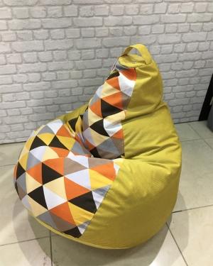 Кресло-мешок р-р Стандарт Ромб Елоу