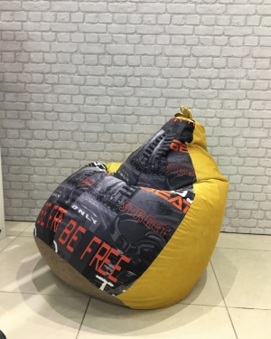 Кресло-мешок р-р Плюс Комбо Мьюзик