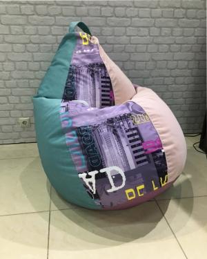 """Кресло мешок р-р """"Плюс"""" Комбо"""
