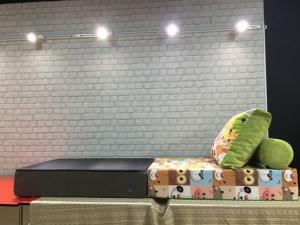 Кресло-кровать бескаркасное Мордашки