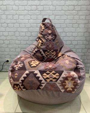 кресло-мешок р-р стандарт Мехико браун