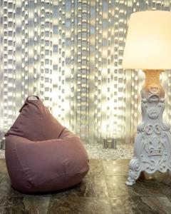 Кресло-мешок р-р Стандарт Мьюзик сирень