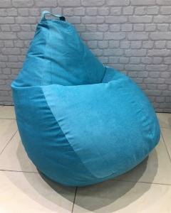 """Кресло мешок р-р """"Плюс""""  velvet lux"""