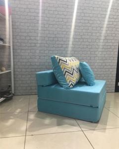 Бескаркасное кресло Лазурь